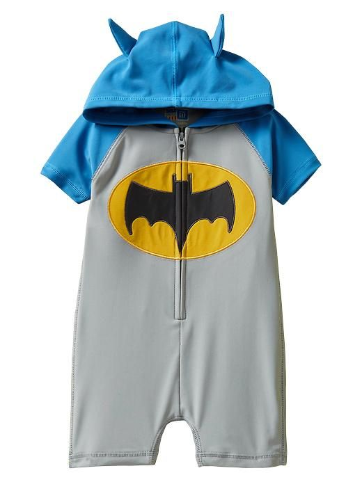 Gap | Junkfood Hooded one-piece rashguard: Hoods One Pieces, Batman Rashguard, Junk Food, Batman Baby, Baby Boys, Future Kids, Bath Suits, Baby Clothing, Baby Stuff