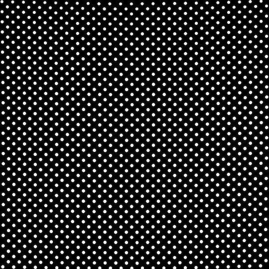 black white mini polka dot matte satin by 60