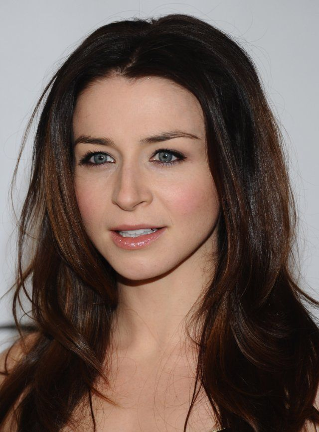 Caterina Scorsone - loving the color!