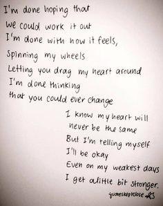 A Little Bit Stronger by Sara Evans