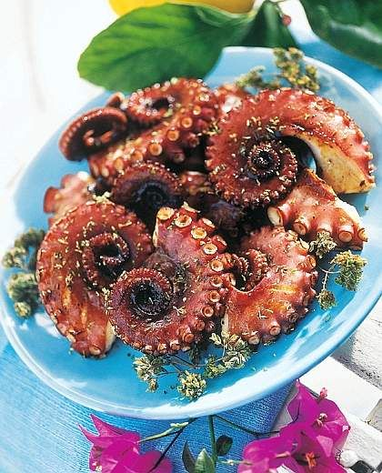 Polpo alla griglia ... Grilled Octopus ... I love grilled octopus!!!!