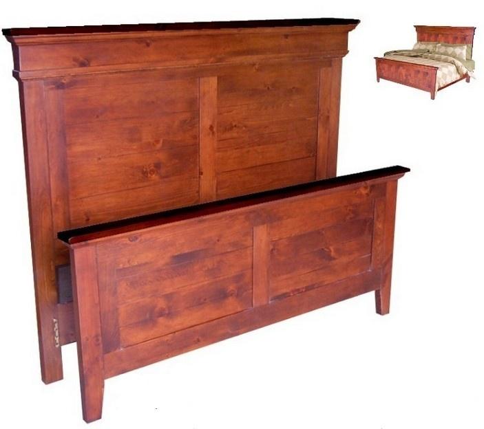 Canadian Woodcraft  - Deluxe Riverside Panel Bed, $795.00 (http://www.canadianwoodcraft.ca/accesories/deluxe-riverside-panel-bed/)