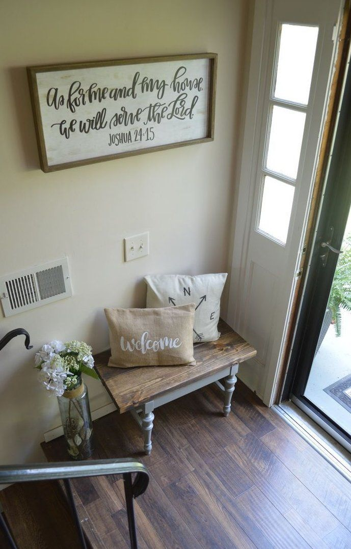 Space Organizers Are A Quick Means To Update Home Decor When Cleaning Out Clutter At The Exact Time And They Re No In 2020 Foyer Furniture Foyer Decorating Split Foyer #no #foyer #small #living #room