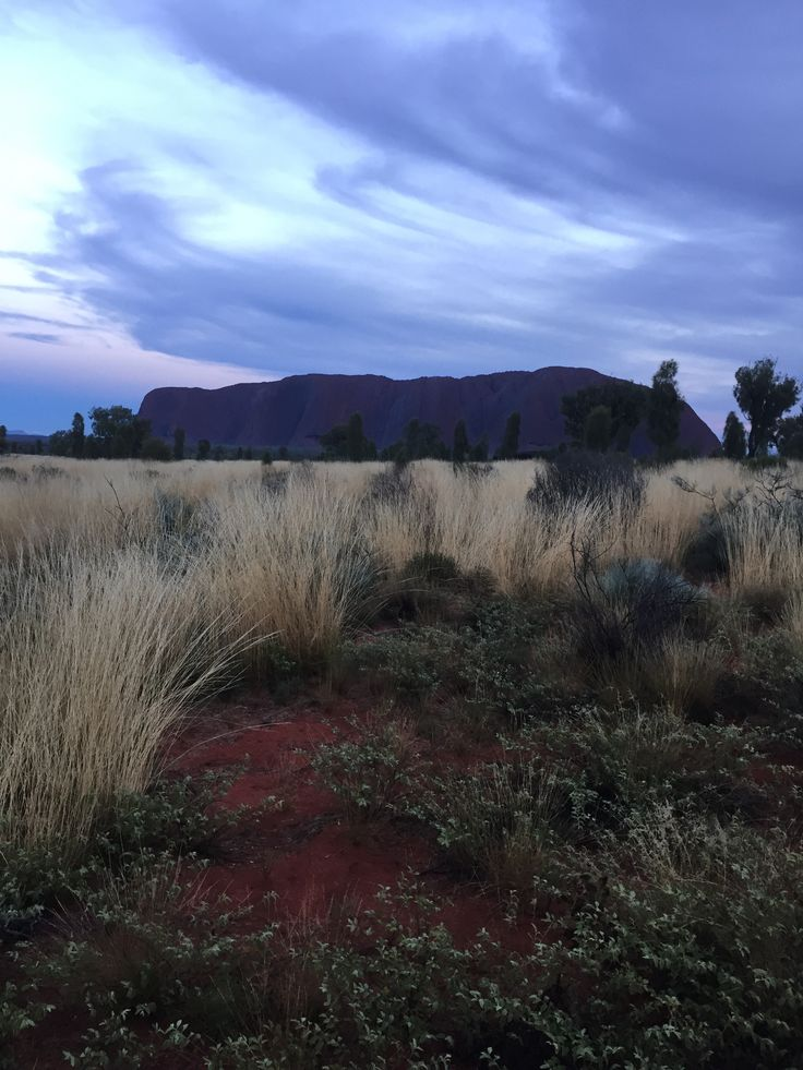 Rocking the Red Centre of Australia.