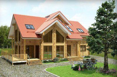Чарът на дървените къщи