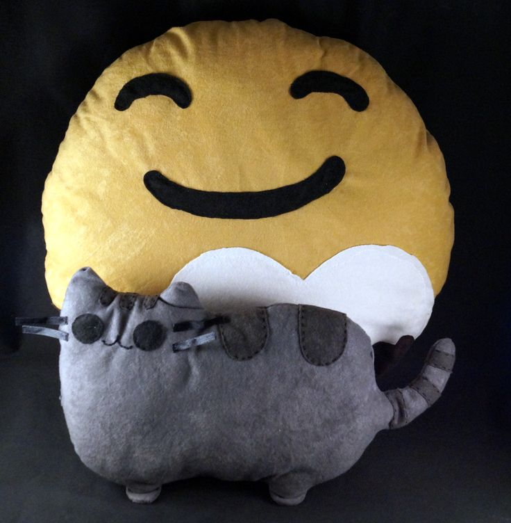 Planet pluto plushie and pusheen