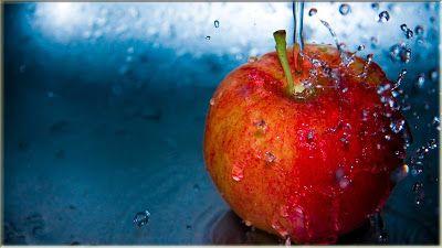 wallpaper buah apel