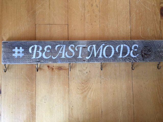 Race Medal Display #Beastmode