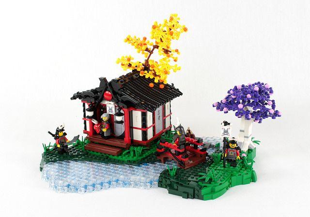 Neuschwanstein Castle Lego Instructions
