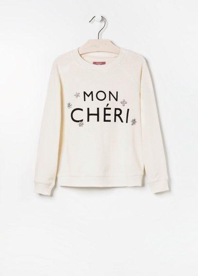 NEW - Sweatshirt met stras