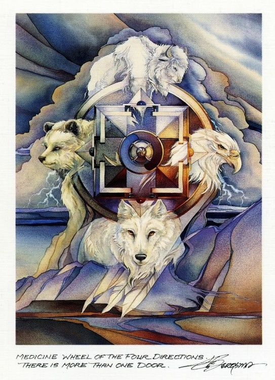 Medicine Wheel  Painting - Jody Bergsma