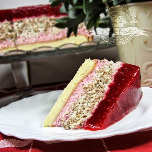 Pyszny torcik malinowy | Świat Ciasta