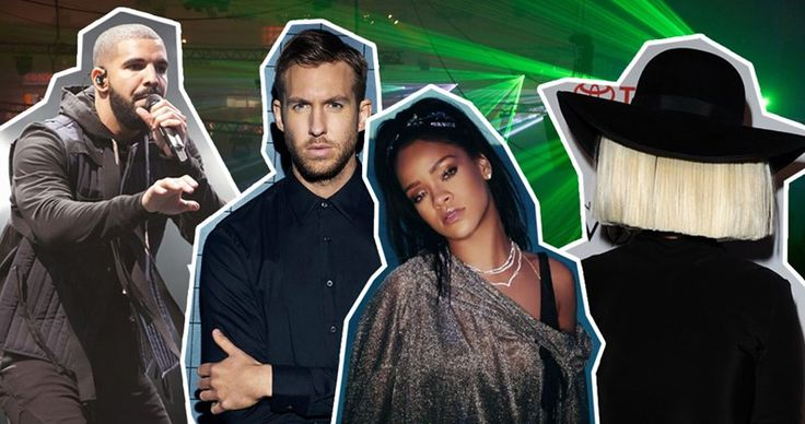 The Official Top 40 Biggest Songs of 2016 so far revealed