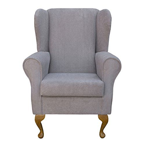 Small Westoe Wingback Armchair in a Stone Dimple Luxury Velvet Fabric Beaumont http://www.amazon.co.uk/dp/B00LOCIDRK/ref=cm_sw_r_pi_dp_JqCEvb176ZN0R