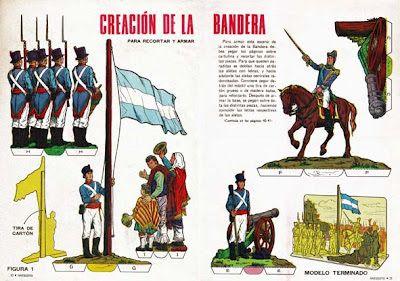Jura de la Bandera Argentina por los soldados del General Manuel Belgrano.