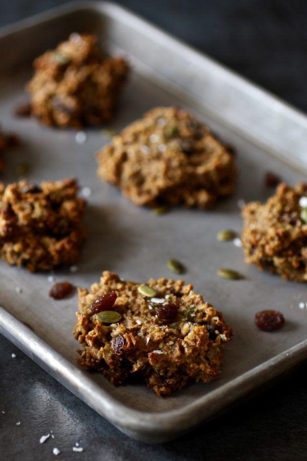 Gluten-free Pumpkin Breakfast Cookies (nut-free) - The Real Food Dietitians