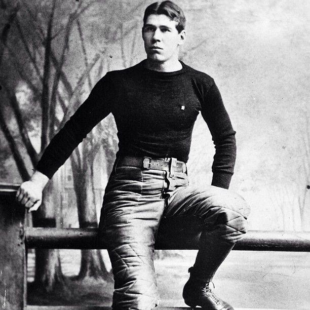121 years ago today, Pudge Heffelfinger accepted $500 to play in a football game. And pro football was born.