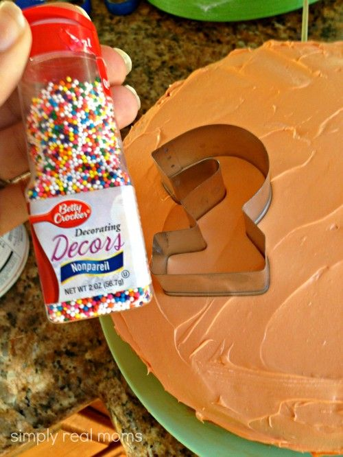 What a cool trick for cakes! Never thought of cookie cutters...