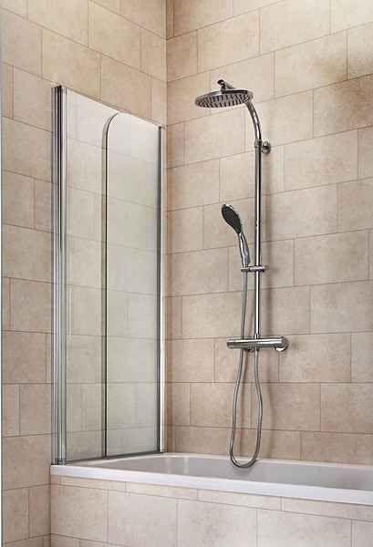 Badewannenaufsatz Summer 110 X 150 Cm 2 Tlg Glas Badewanne
