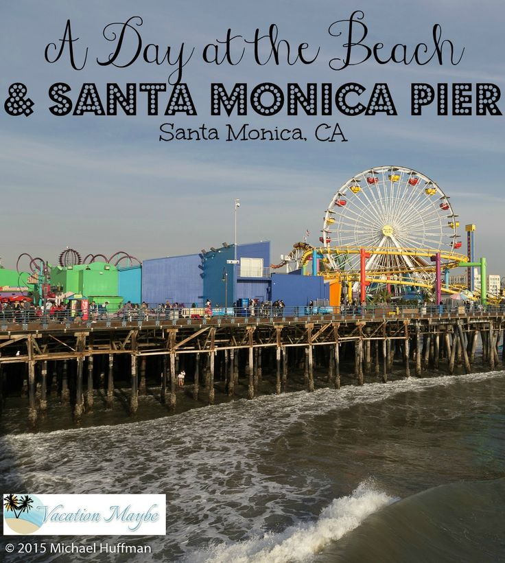 At the Santa Monica Pier a few things collide to give it a special atmosphere including the ocean, the beach, and a mini theme park.