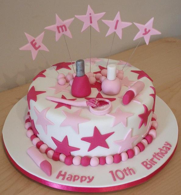 Girl cake