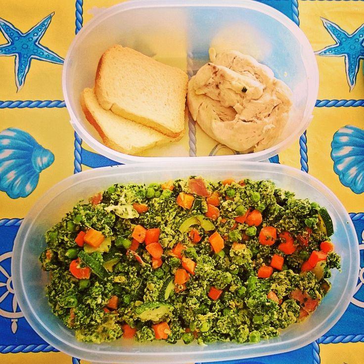 Pranzo nutriente e proteico: pollo e verdure http://thecrossfitdiary.wordpress.com/