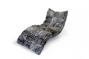 Zebra chaise longue day bed by bretz cloud 7 for Animal print chaise longue