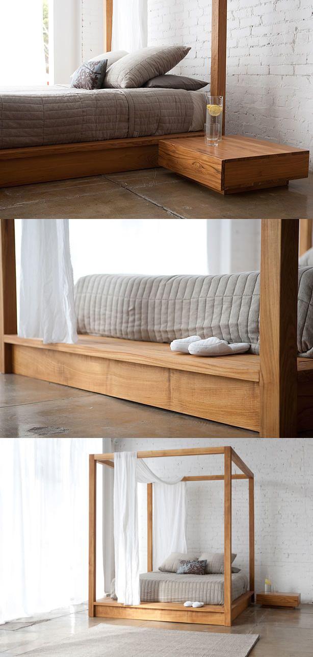 MASHstudios Canopy Bed