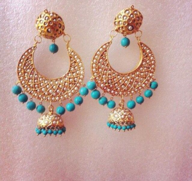 Perfect #summer #desi #jhumkis