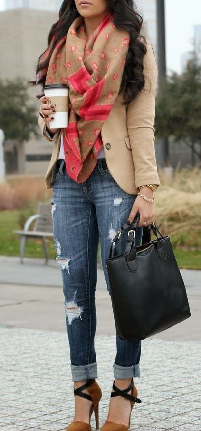 #fall #fashion / beige
