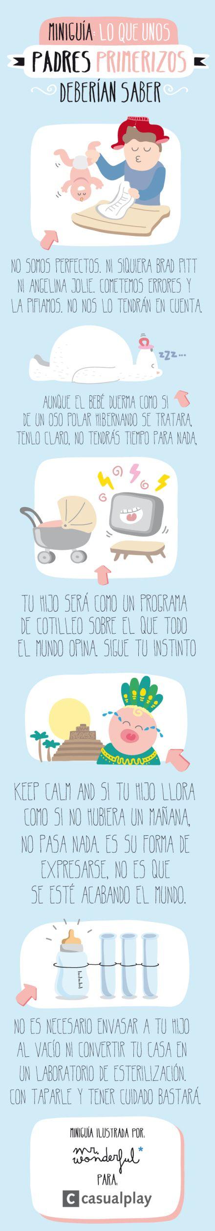Miniguía para padres primerizos  #Premamá #Padres #Primerizos
