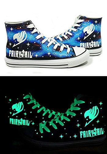 TD Mania Fairy Tail Anime Logo Cosplay Shoes Canvas Sport shoes Hand-painted Shoes All Star Luminous TD Mania http://www.amazon.com/dp/B00ZTC3BU0/ref=cm_sw_r_pi_dp_6eyMvb12V7VKM