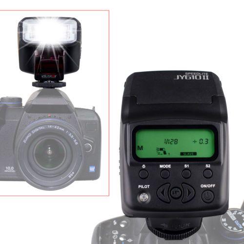 DHL 20 шт. Viltrox JY-610 II LCD мини Строба Вспышки Света Вспышки Speedlite для Цифровой Зеркальный Фотоаппарат Canon Nikon D3200 ЗЕРКАЛЬНЫЕ ФОТОКАМЕРЫ 70D 5 5DIII 7D 5100