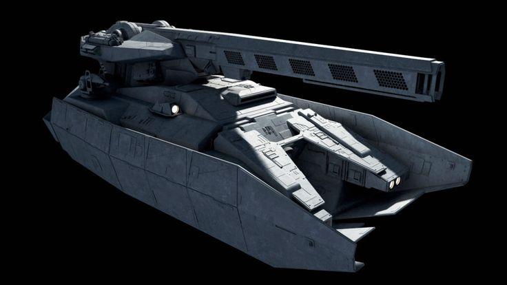 <b>Star Wars</b> - <b>First Order</b> MAVr-A7 Repulsortank (Artillery Variant)   зв ...