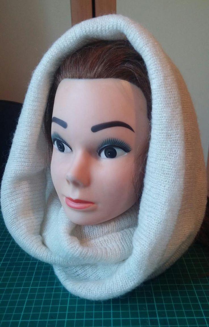 Предлагаю вашему вниманию двойной шарф снуд, шьется очень быстро и просто. Практически как повязка из моего мастер-класса >> Итак, шарф-снуд может быть разного размера и по ширине, и по длине, все зависит от ткани и от вашего желания. Берем полотно размером 160 на 70. Естественно, 160 — длина, а 70 — ширина. Если вы чаще будете носить на голове, как шапочку, я бы рекомендовала ширину немного прибавить. Вы можете взять…