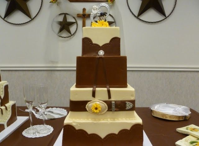1000 Images About Western Wedding Cakes On Pinterest