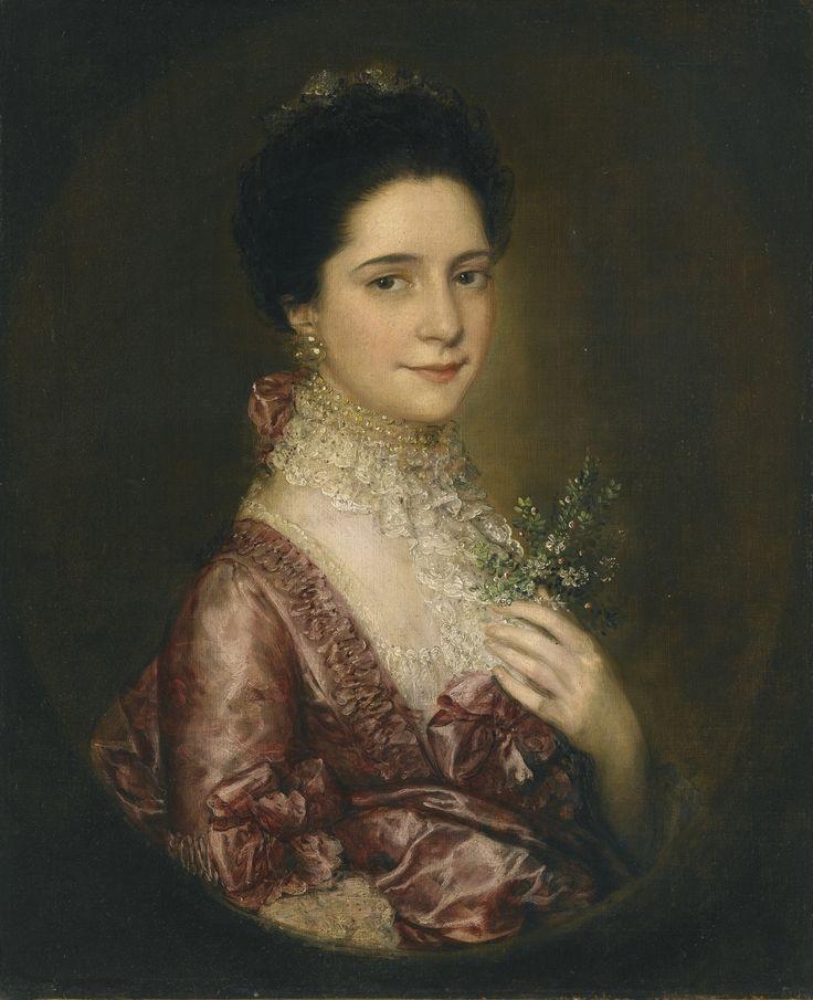 Thomas Gainsborough (1727 - 1788) - Portrait of Mrs. Richards