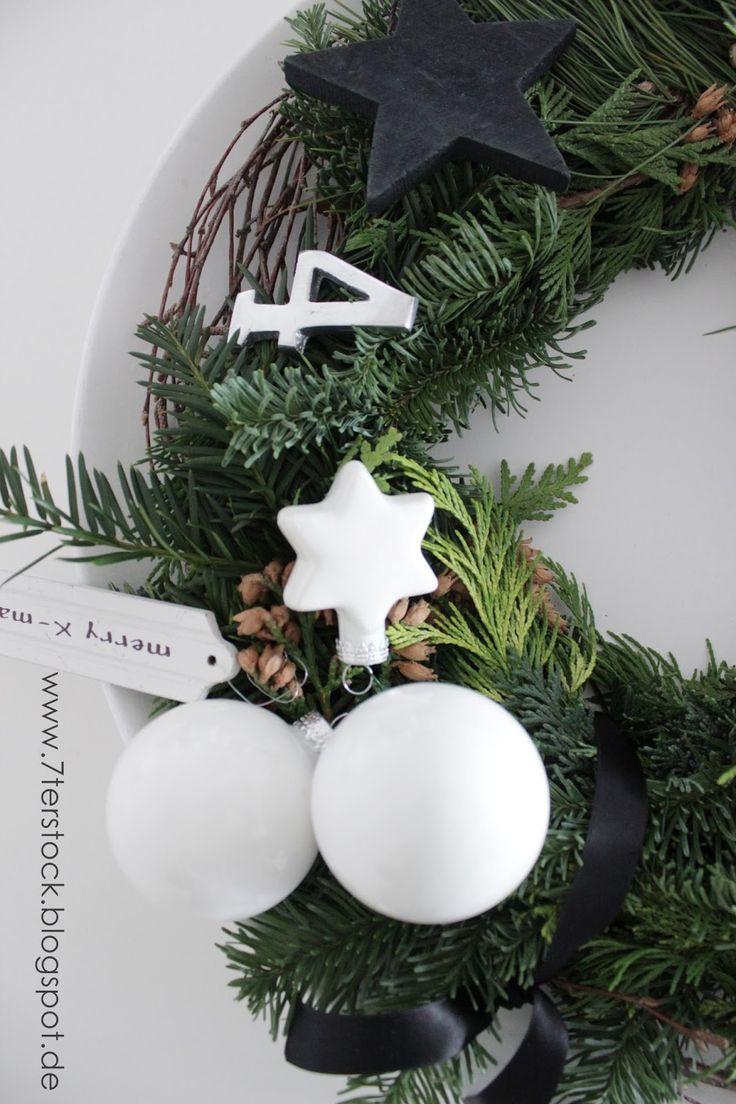 25 einzigartige adventskranz modern ideen auf pinterest. Black Bedroom Furniture Sets. Home Design Ideas