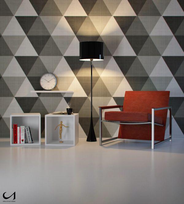 Geometric Spaces by Gianluca Muti, via Behance
