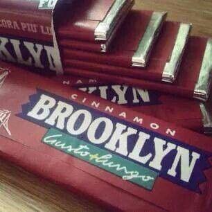 Noi che. ....... masticavamo la Brooklyn gusto cannella