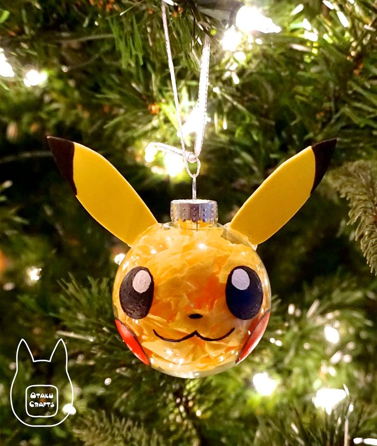 Otaku Crafts: Make Your Own Pokemon Ornament