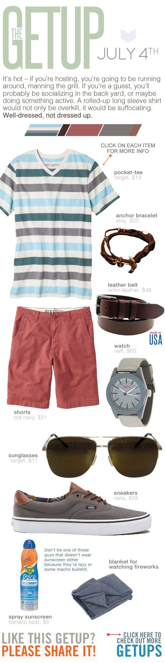 The Getup: July 4th - Primer