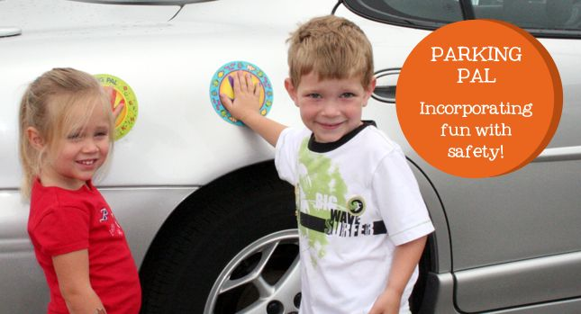 Parking Pals. Pinned by Sensory Processing Disorder Parent Support. SPD. Safety.