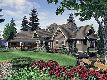 Plan 6969am award winning home plan craftsman bonus for Award winning craftsman home designs