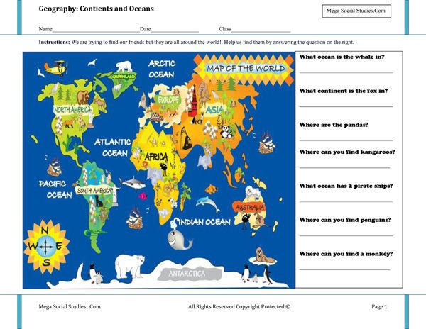 Best Geography Activities Images On Pinterest Geography - Geography map for kids