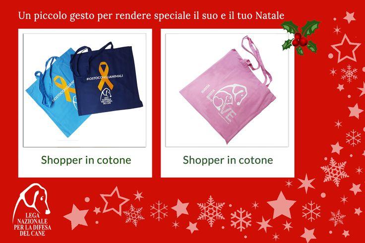 Un piccolo gesto per rendere speciale il suo e il tuo #Natale ♥ #shopper #shoppingsolidale #lamorelasciailsegno #oltrelaspecie 👉 http://bit.ly/2fZAXwG