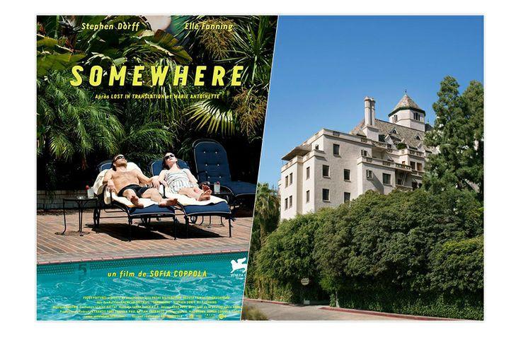 Le Château  Marmont dans Somewhere http://www.vogue.fr/voyages/hot-spots/diaporama/les-hotels-au-cinema/18748/image/1000550#!les-hotels-au-cinema-le-chateau-marmont-dans-somewhere