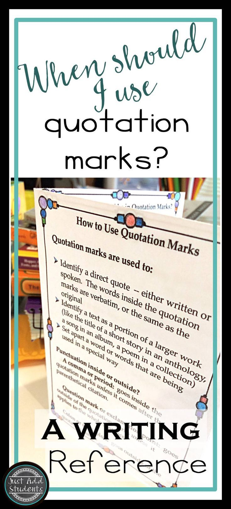best ideas about quotation marks rules quotation quotation marks