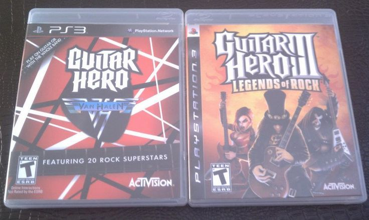 PS3 Guitar Hero II, Guitar Hero Van Halen & Guitar in Hast's Garage Sale Carroll, IA for $30.00. 2 Like New Guitar Hero Games with Guitar (guitar is standard one that comes with the games). The Van Halen one has hardly been played, the Guitar Hero II has been played a couple of times.