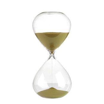 Hourglass - Ball - Gold